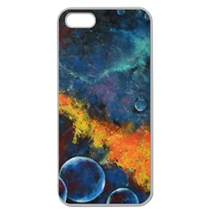 Space Balls Apple Seamless Iphone 5 Case (clear) by timelessartoncanvas
