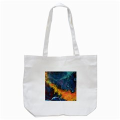 Space Balls Tote Bag (white) by timelessartoncanvas