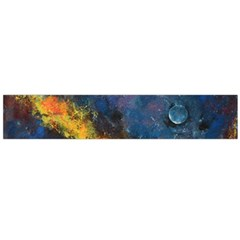 Space Balls Flano Scarf (large) by timelessartoncanvas