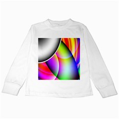 Psychedelic Design Kids Long Sleeve T Shirts by timelessartoncanvas