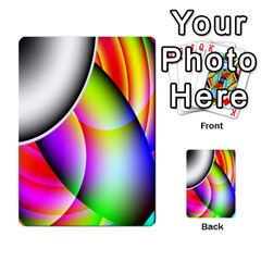 Psychedelic Design Multi Purpose Cards (rectangle)  by timelessartoncanvas