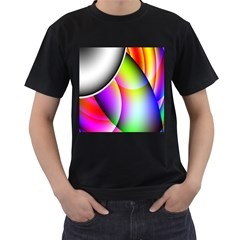 Psychedelic Design Men s T-shirt (black) by timelessartoncanvas