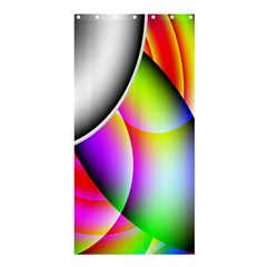 Psychedelic Design Shower Curtain 36  X 72  (stall)  by timelessartoncanvas