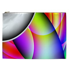 Psychedelic Design Cosmetic Bag (xxl)  by timelessartoncanvas
