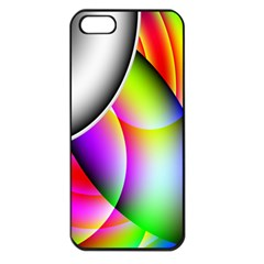Psychedelic Design Apple Iphone 5 Seamless Case (black) by timelessartoncanvas