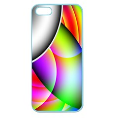 Psychedelic Design Apple Seamless Iphone 5 Case (color) by timelessartoncanvas