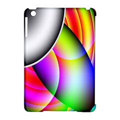 Psychedelic Design Apple Ipad Mini Hardshell Case (compatible With Smart Cover) by timelessartoncanvas