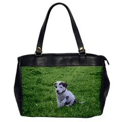 Pit Bull T Bone Puppy Office Handbags by ButThePitBull