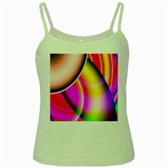 Colorful 1 Green Spaghetti Tank by timelessartoncanvas