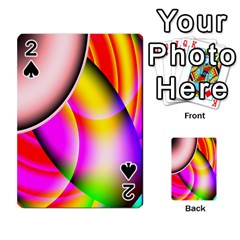 Colorful 1 Playing Cards 54 Designs  by timelessartoncanvas