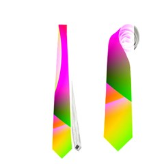 Colorful 1 Neckties (two Side)  by timelessartoncanvas