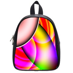 Colorful 1 School Bags (small)  by timelessartoncanvas