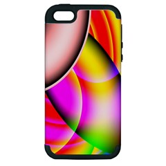 Colorful 1 Apple Iphone 5 Hardshell Case (pc+silicone) by timelessartoncanvas