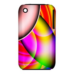 Colorful 1 Apple Iphone 3g/3gs Hardshell Case (pc+silicone) by timelessartoncanvas