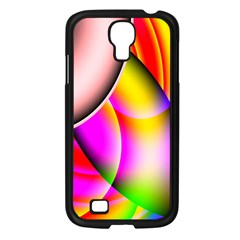 Colorful 1 Samsung Galaxy S4 I9500/ I9505 Case (black) by timelessartoncanvas