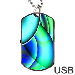 New 2 Dog Tag Usb Flash (one Side) by timelessartoncanvas