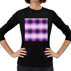New 3 Women s Long Sleeve Dark T Shirts by timelessartoncanvas
