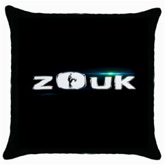 Zouk Throw Pillow Case (black) by LetsDanceHaveFun