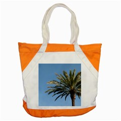 Tropical Palm Tree  Accent Tote Bag by BrightVibesDesign