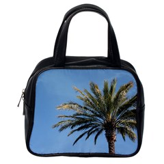 Tropical Palm Tree  Classic Handbags (one Side) by BrightVibesDesign