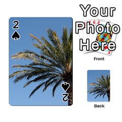 Tropical Palm Tree  Playing Cards 54 Designs  by BrightVibesDesign