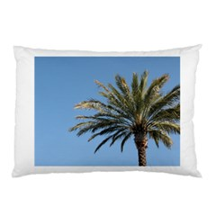 Tropical Palm Tree  Pillow Case by BrightVibesDesign