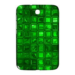 Glossy Tiles,green Samsung Galaxy Note 8 0 N5100 Hardshell Case  by MoreColorsinLife