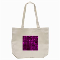 Glossy Tiles,purple Tote Bag (cream)