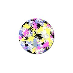 Abstract Golf Ball Marker (4 Pack) by Uniqued