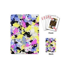 Abstract Playing Cards (mini)  by Uniqued