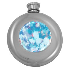 Abstract #2 Round Hip Flask (5 Oz)