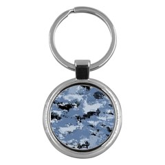 Abstract #3 Key Chains (round)  by Uniqued