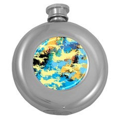 Abstract #4 Round Hip Flask (5 Oz)
