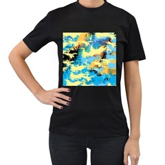 Abstract #4 Women s T-shirt (black) by Uniqued