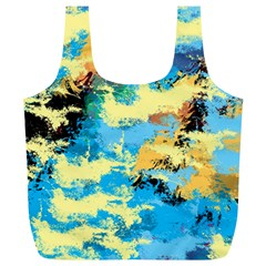 Abstract #4 Full Print Recycle Bags (l)  by Uniqued