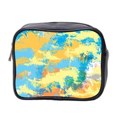 Abstract #5 Mini Toiletries Bag 2 Side by Uniqued