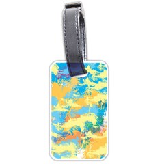 Abstract #5 Luggage Tags (two Sides) by Uniqued