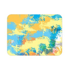 Abstract #5 Double Sided Flano Blanket (mini)