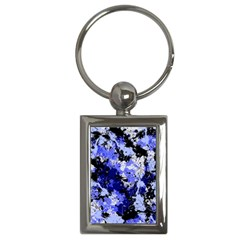 Abstract #7 Key Chains (rectangle)  by Uniqued