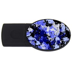 Abstract #7 Usb Flash Drive Oval (4 Gb)