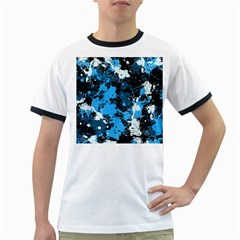 Abstract #8 Ringer T-shirts by Uniqued