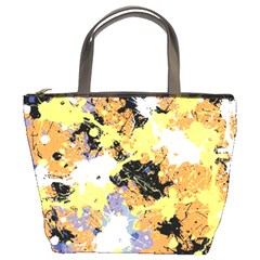 Abstract #9 Bucket Bags by Uniqued