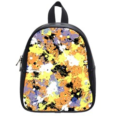 Abstract #9 School Bags (small)  by Uniqued