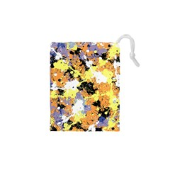 Abstract #9 Drawstring Pouches (xs)  by Uniqued