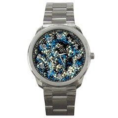Abstract #15 Sport Metal Watch