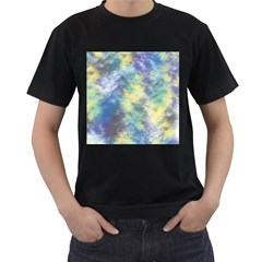 Abstract #17 Men s T Shirt (black) (two Sided)