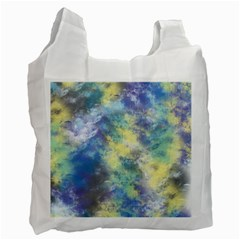 Abstract #17 Recycle Bag (one Side)