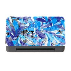 Abstract Floral Memory Card Reader With Cf by Uniqued