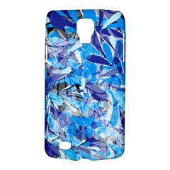 Abstract Floral Galaxy S4 Active by Uniqued
