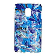 Abstract Floral Galaxy Note Edge by Uniqued